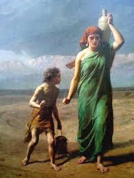 Hagar and Ishmael sent away